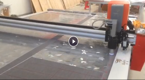 PVC soft glass cutting